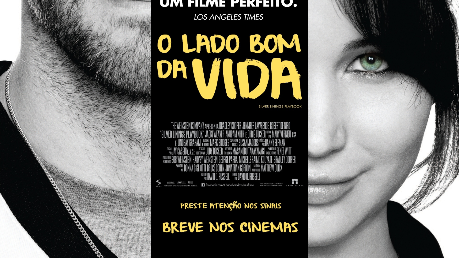 Cartaz oficial em português do longa