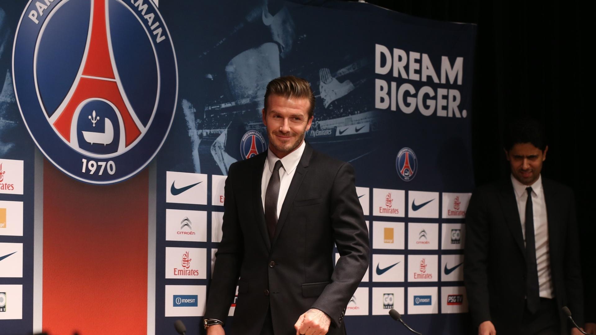 David Beckham assinou contrato e resolveu doar salário para instituições de caridade