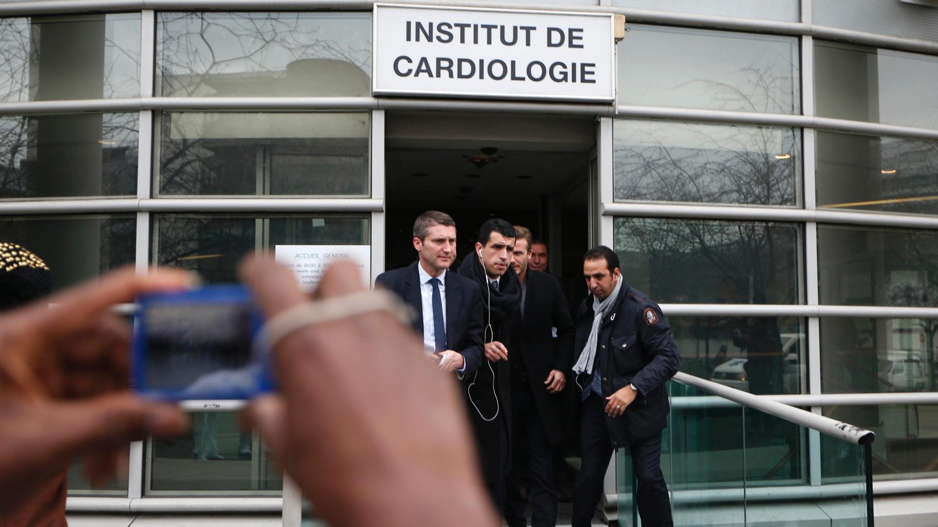Ex-capitão da seleção inglesa, Beckham realizou exames médicos antes de assinar contrato