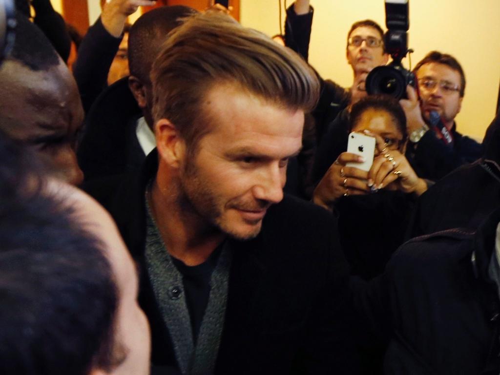 Beckham está sem jogar desde dezembro, quando deixou o Los Angeles Galaxy-EUA
