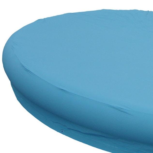Essa capa de PVC laminado possui cordas para amarração e respiro central. Produzida pela Nautika, é indicada para piscinas redondas de 1.400 litros. Disponível na Americanas.com (www.americanas.com) por R$ 39,90 (+ frete)