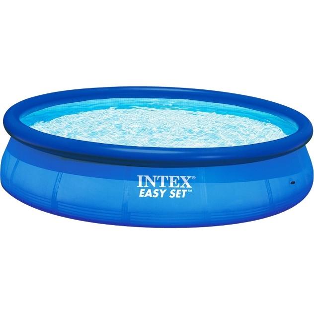 Fabricada pela Intex na China, a piscina inflável Easy Set tem capacidade para 6.734 litros e é fabricada com três camadas de PVC pneumático. Acompanha bomba para enchimento. À venda no Shoptime (www.shoptime.com.br) por R$ 239,90 (+ frete)