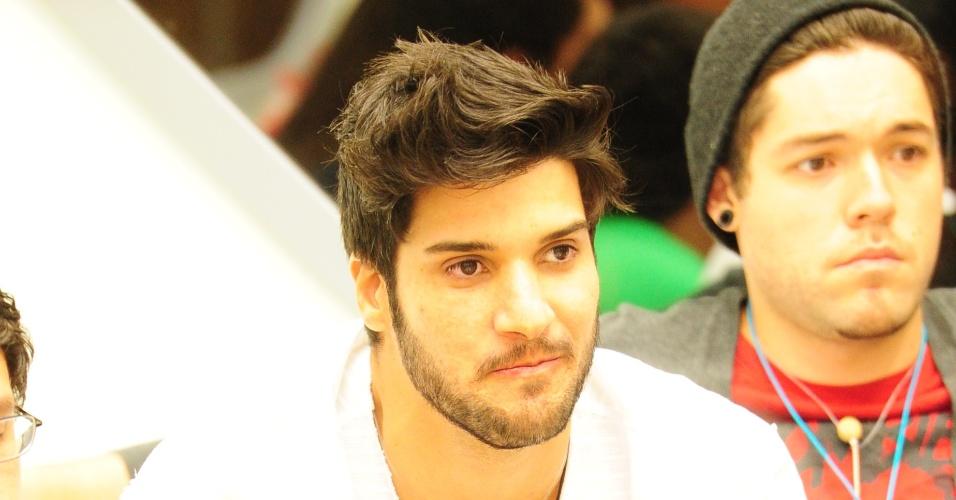 03.fev.2013 - Marcello vai para o paredão, votado pela xepa