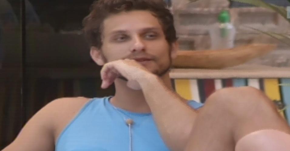 04.fev.2013 - Eliéser detona Marcello em conversa com Anamara