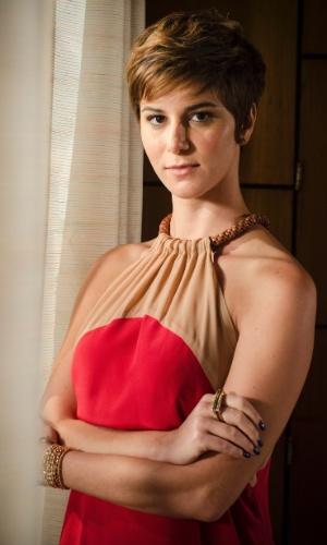 """A atriz Dani Moreno, que interpreta Aisha, em """"Salve Jorge"""""""