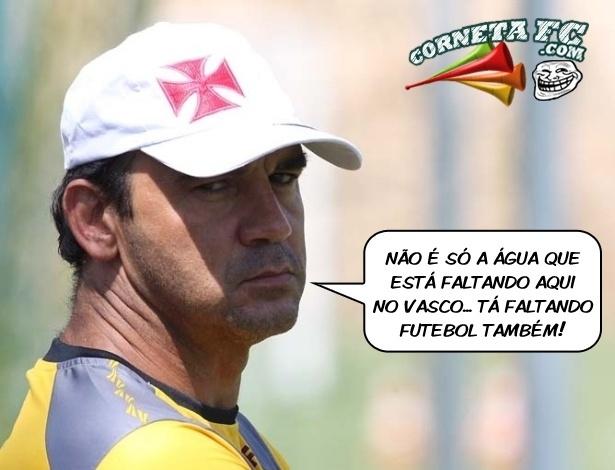 Corneta FC: Ricardo Gomes diz o que realmente falta no Vasco