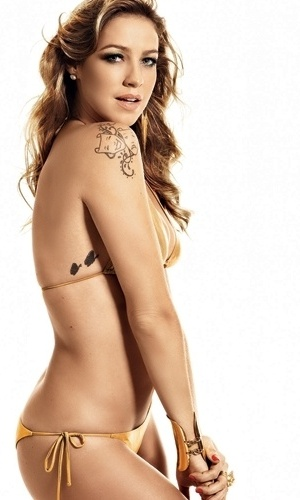 Luana Piovani - capa da Shape de fevereiro