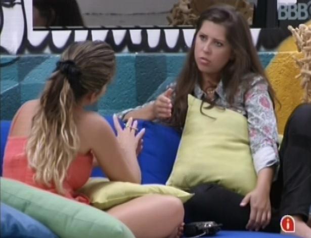05.fev.2013 - Anamara critica comportamento de Marcello para Andressa