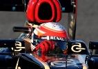 Grosjean foca em melhorar sua regularidade em 2013