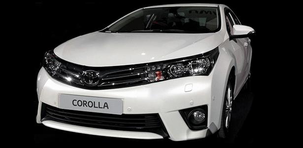 Suposto Toyota Corolla 2014 em foto publicada no blog Carscoop, especialista em segredos
