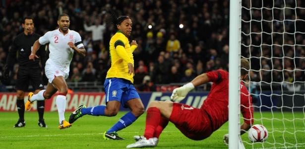 A partida do Brasil contra a Inglaterra foi a última que contou pontos para a seleção no ranking da Fifa