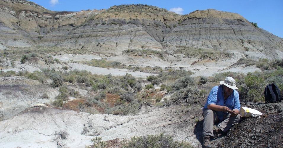 7.fev.2013 - Novo estudo afirma que impacto do asteroide Chicxulub, que deixou uma imensa cratera no México, e a extinção dos dinossauros não voadores teria ocorrido há 66 milhões de anos
