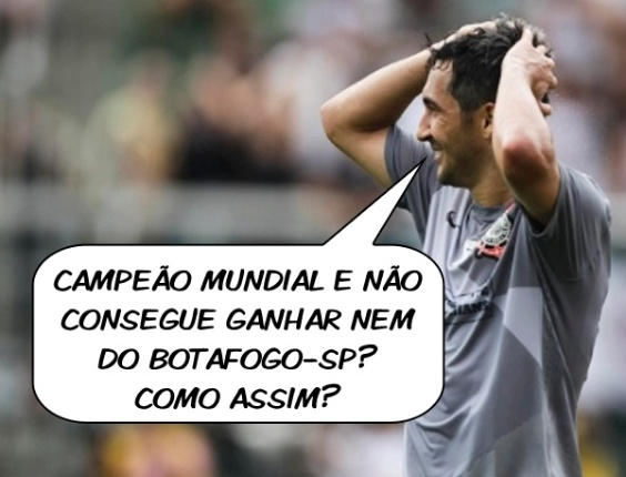 Corneta FC: Campeo mundial, mas no ganha do Botafogo-SP