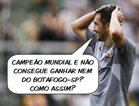 Corneta FC: Campeão mundial, mas não ganha do Botafogo-SP