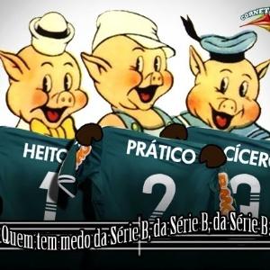 Corneta FC: Palmeiras não tem medo do lobo mau