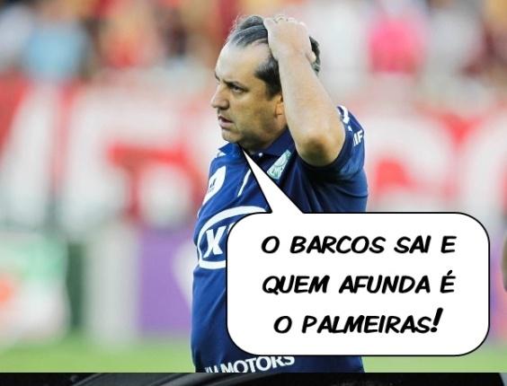 Corneta FC: Barcos sai e Palmeiras afunda