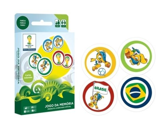 Jogo de memória da Copa, feito pela Copag, que chegará ao mercado no fim de fevereiro deste ano