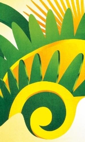 Toalha da Copa das Confederações, que custará cerca de R$ 30 no varejo