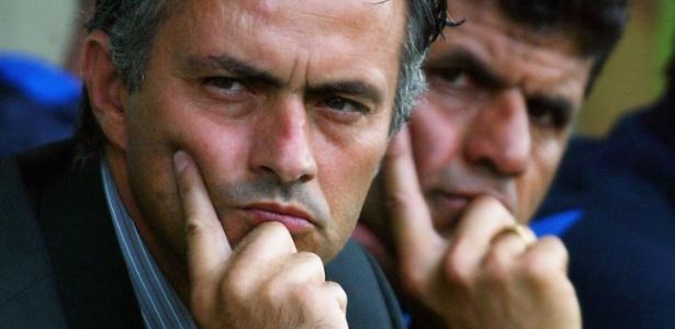 José Mourinho em sua época de treinador do Chelsea, em 2004