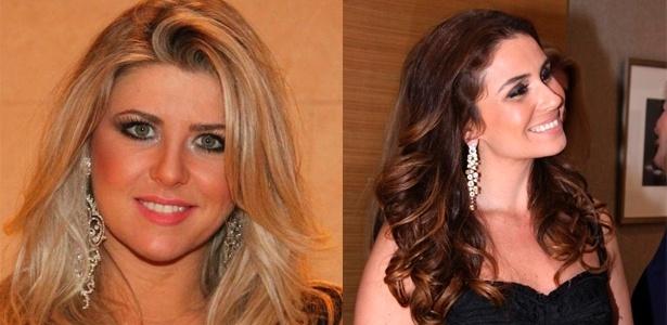 Iris Stefanelli e Giovanna Antonelli usam brincos grandes para levantar o look