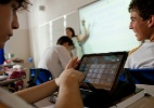 Uso de aplicativos para celular ganha força na escola - Gabo Morales/Folhapress