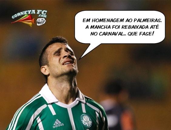 Corneta FC: Mancha cai no Carnaval e Palmeiras volta a ser alvo de piadas