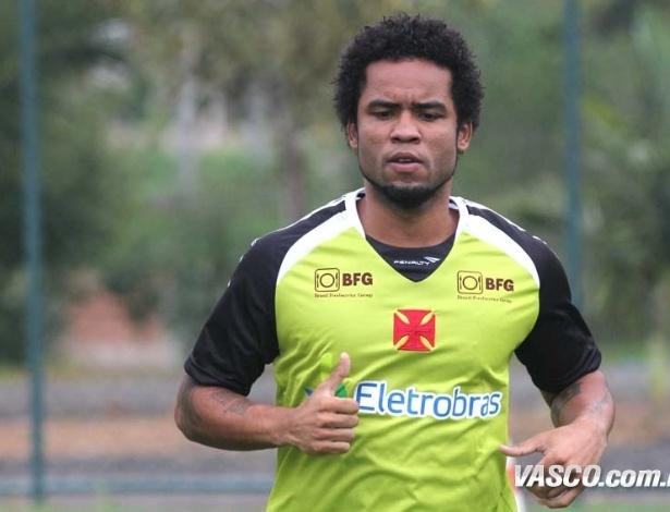 Carlos Alberto treina no Vasco