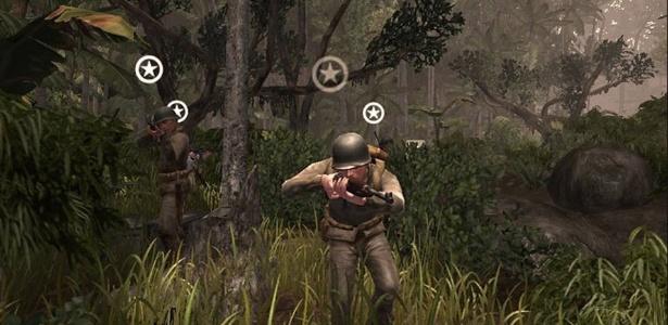 """No clássico """"Medal of Honor: Pacific Assault"""", de 2004, os jogadores retornam ao front do Oceano Pacífico durante a Segunda Guerra Mundial"""