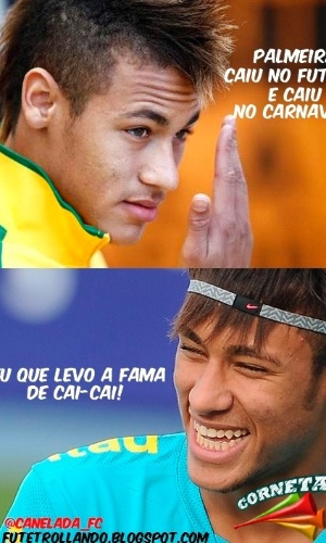 Corneta FC: Neymar corneta duplo rebaixamento do Palmeiras