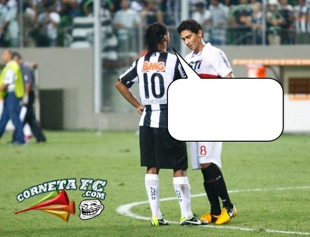 Corneta FC: O que R10 disse para Ganso?