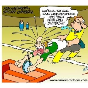Corneta FC: Sina de rebaixado assombra Palmeiras na Libertadores