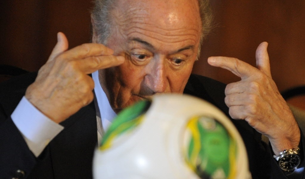 10.fev.2013 - Joseph Blatter, presidente da Fifa, fala durante entrevista coletiva sobre manipulao de resultados no futebol