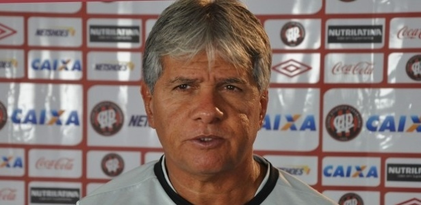 Arthur Bernardes, técnico do Atlético-PR