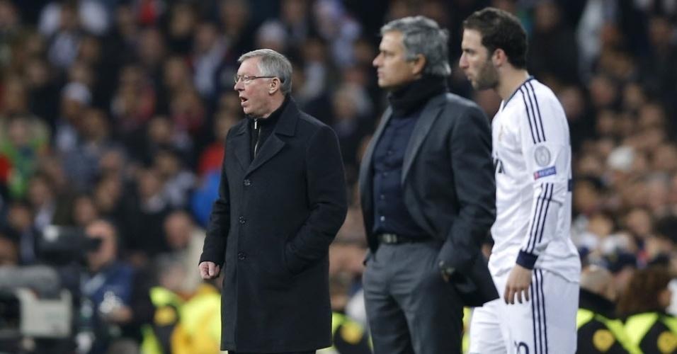 Alex Ferguson, José Mourinho e Higuaín