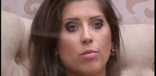 17.fev.2013 - Andressa diz achar ridículo usar escala da aproximação para justificar voto