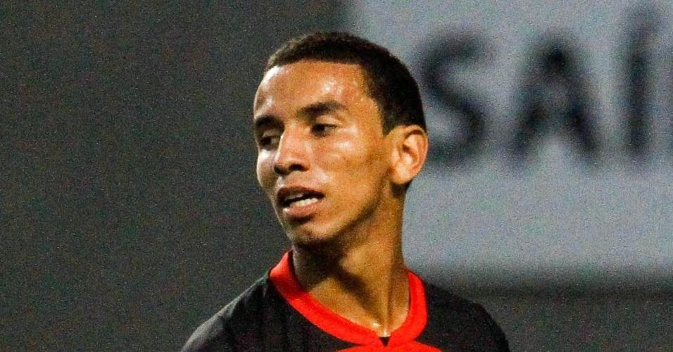 Xodó do Flamengo, Rafinha lamenta lance perdido no jogo contra o Botafogo