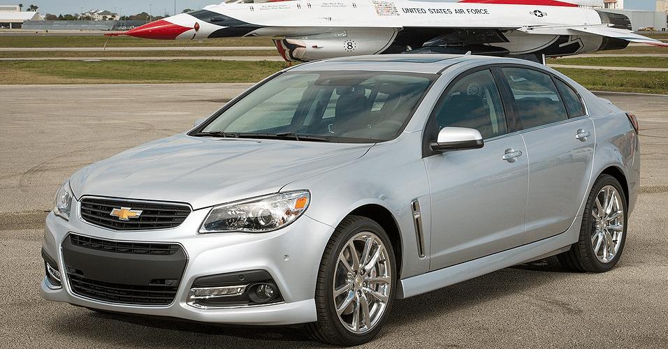 Chevrolet SS é o primeiro sedã com motor V8 e tração traseira