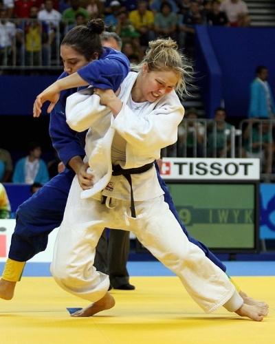 Ronda Rousey como judoca, no Rio