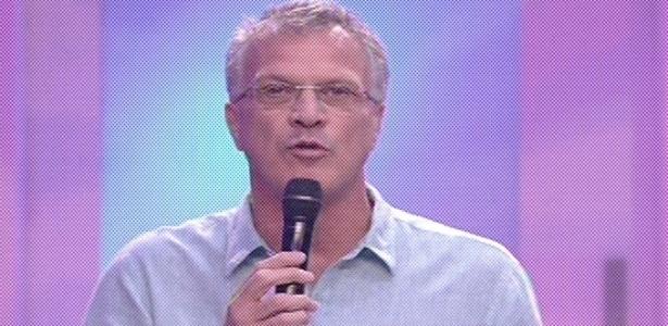 19.fev.2013 - Pedro Bial apresenta o