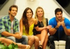 Juntos no paredão, Eliéser e Kamilla têm aumento de mais de 100% nas menções em redes sociais - Reprodução/Globo