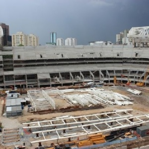 Arena Palestra tem previso de ficar pronta no segundo semestre