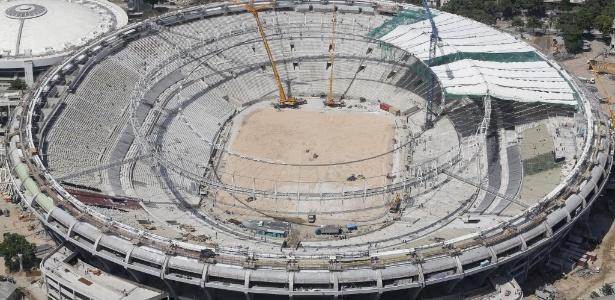 Maracanã será reinaugurado em abril, mas partida terá os portões fechados