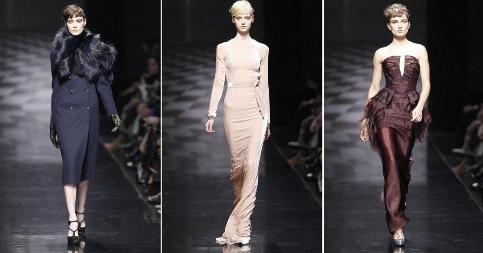 23 fev. 2013 - Ermanno Scervino impressionou com roupas elegantes e glamourosas, suas apostas para a coleção outono/inverno apresentadas na Semana de Moda de Milão