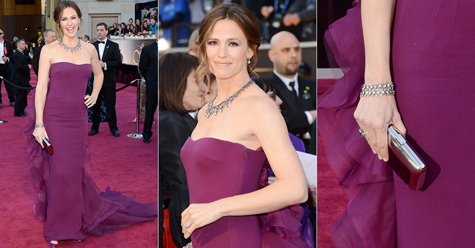 Jennifer Garner chega para o Oscar 2013, em Los Angeles (24/02/2013)