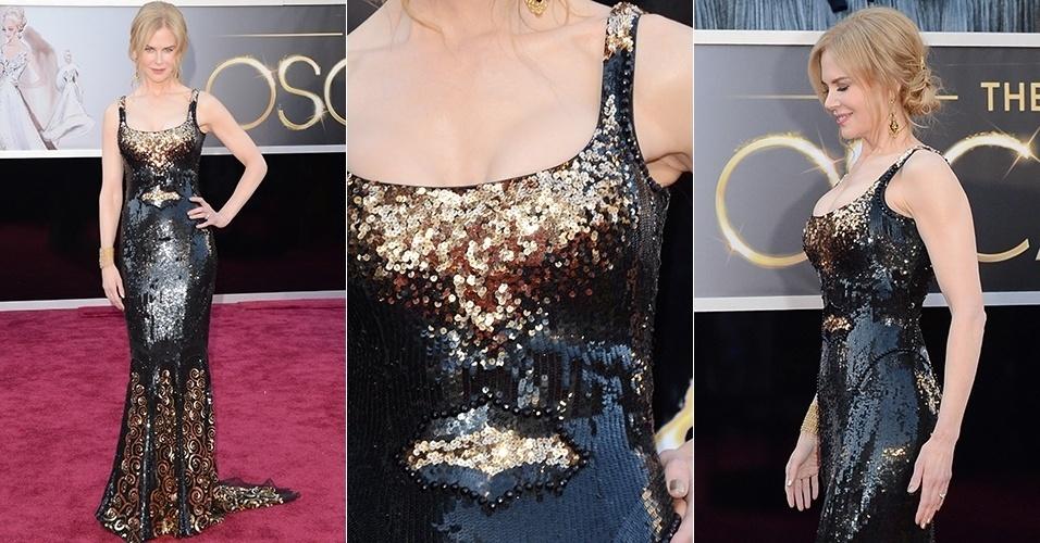 Nicole Kidman chega para o Oscar 2013, em Los Angeles (24/02/2013)