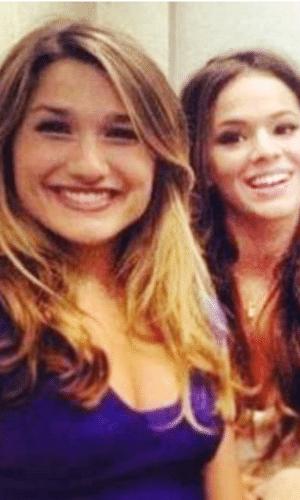 2013 - Sasha e Bruna Marquezine são amigas desde a infância