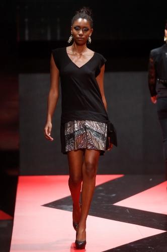 26 fev. 2013 - A marca Confraria apresentou um look elegante e confortável
