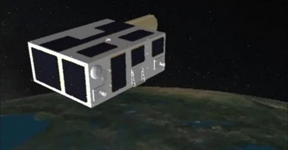 26.fev.2013 - A Agência Espacial do Canadá lançou com sucesso o primeiro telescópio espacial apenas para caçar asteroides e lixo espacial. O NEOSSat (Satélite de Vigilância de Objetos Próximos à Terra, na sigla em inglês) vai orbitar a Terra a cada cem minutos e se posicionar a 800 quilômetros de distância do nosso planeta. O telescópio foi elaborado para achar grandes objetos, com centenas de diâmetro, em uma área bem próxima ao Sol, até cerca de 45º - considerada de difícil observação pelos telescópios terrestres