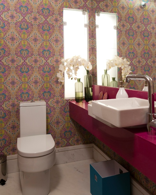 uol decoracao lavabo:Para o Lavabo Feminino, apresentado na edição da Morar Mais 2012, em