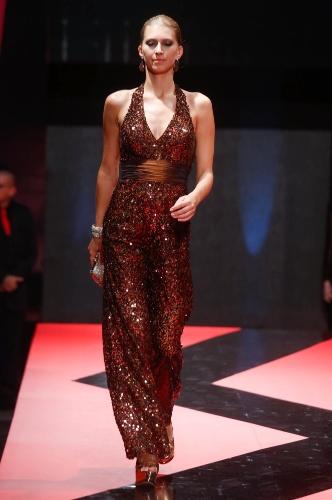 27.fev.2013 - Sonia Baek mostrou que o Brás pode ser uma boa opção na hora de procurar um bonito vestido de festa